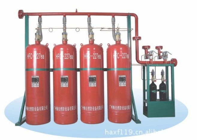 QMQ4.2/120N七氟丙烷气体灭火设备
