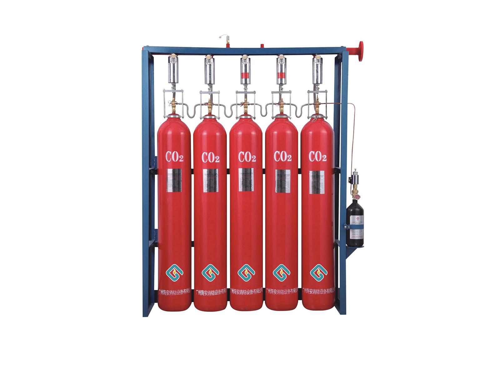 QME70高压二氧化碳自动灭火系统
